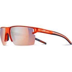 Julbo Outline Zebra Light Gafas de sol Hombre, fluo orange/blue